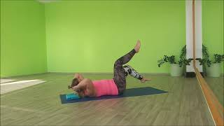 Pilates břicho